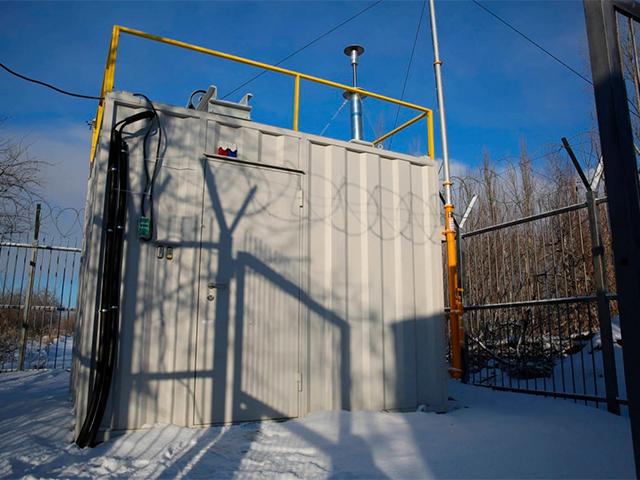 Станции мониторинга качества атмосферного воздуха
