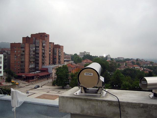 Мониторинг качества воздуха в городах