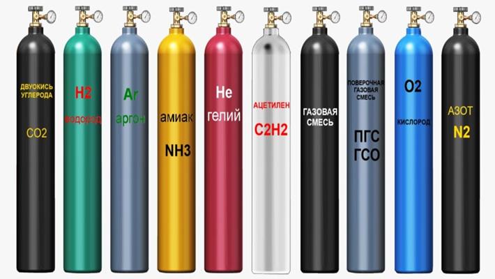 Газовые соединения